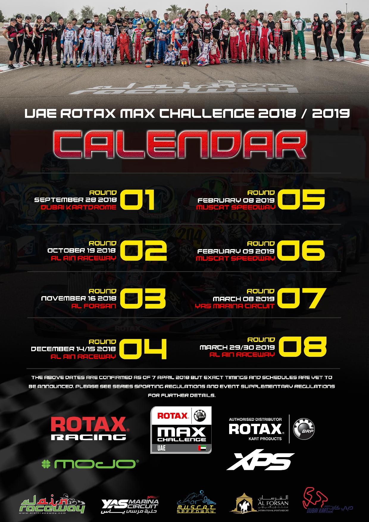official uae rmc calendar 2018 19