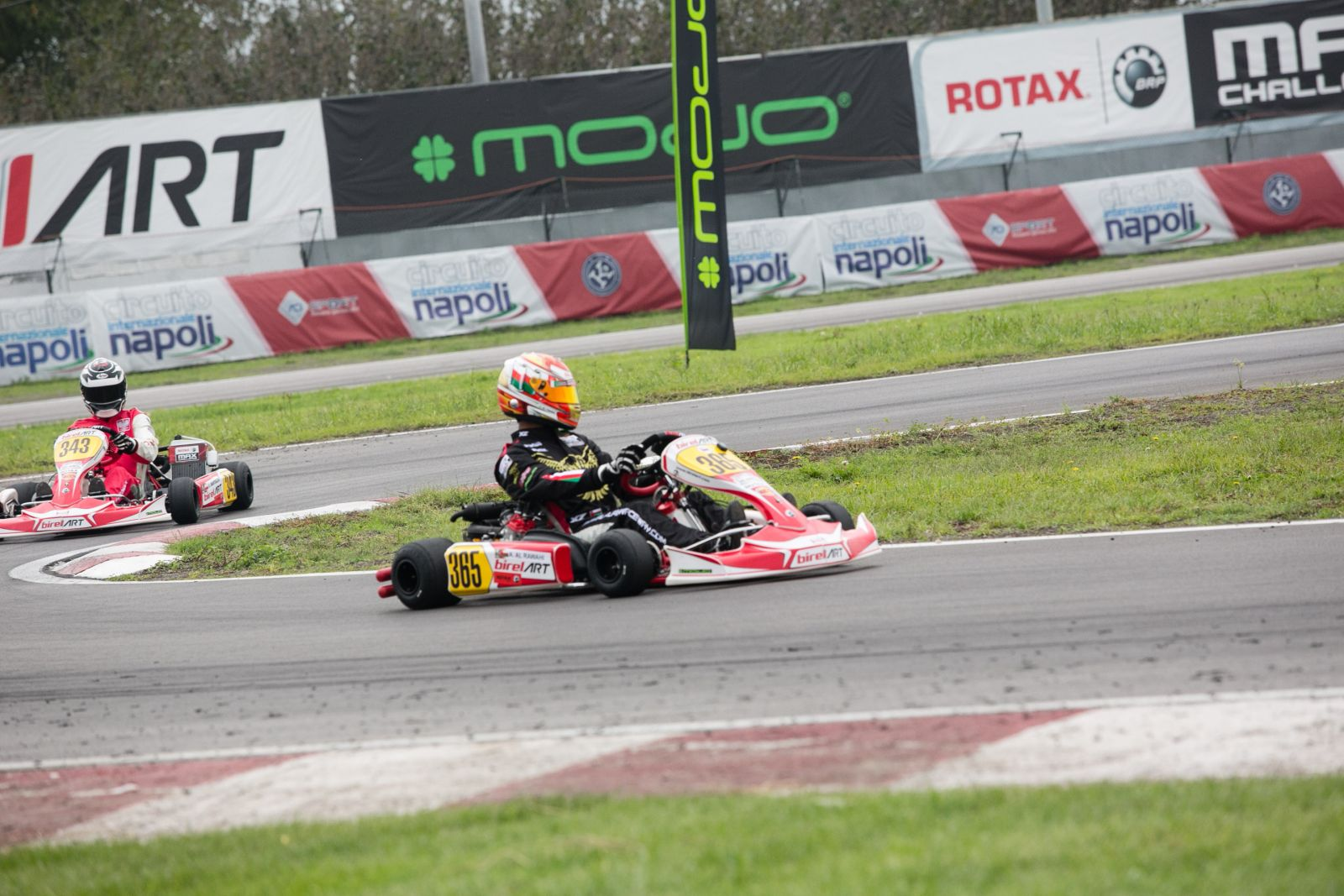 Circuito Karting : Day 2 team uae track action begins at the rotax max challenge